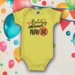 Boldog 60. születésnapot Papa (Sárga)