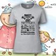 Nagyi házirendje - Női póló