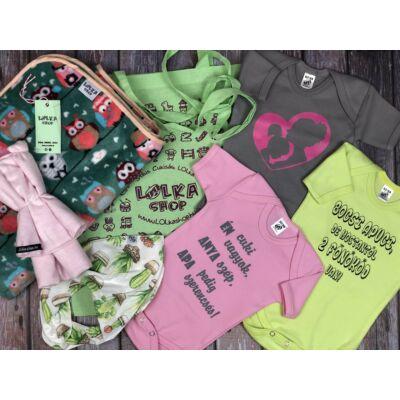 Csajos Bagoly LOLka ajándékcsomag (Pink - Zöld - Szürke)
