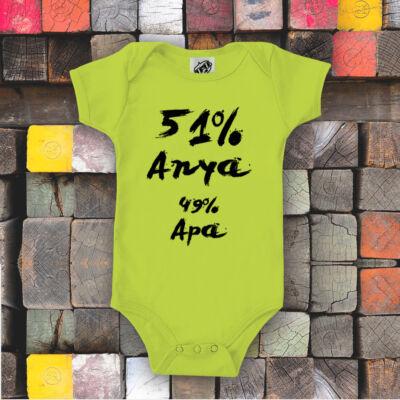 Apa 51% Anya 49% - Babaruha