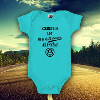 Volkswagen az enyém (Türkizkék)