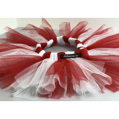 Foci drukker Tütü (piros és fehér)