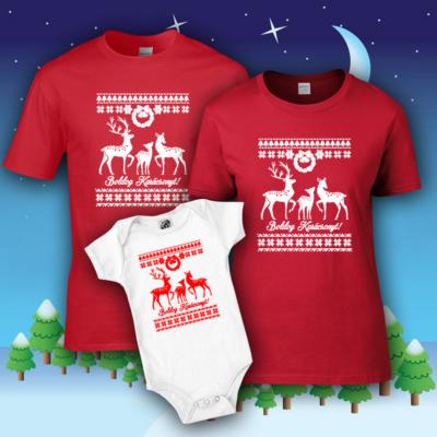 Boldog Karácsonyt (Rénszarvas) - Családi csomag