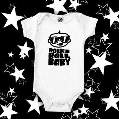 Rock'N Roll Baby - Hosszú ujjú babaruha (AKCIÓ)