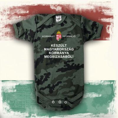 Készült Magyarország Kormánya megbízásából (Fehér felirat) - Babaruha