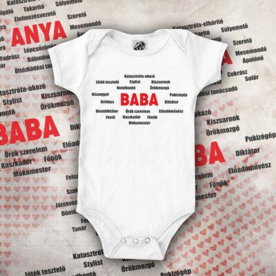 Baba listája babaruha (Fehér)