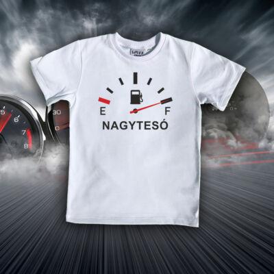 Nagytesó Energiaszint mérő - Gyerkőc póló