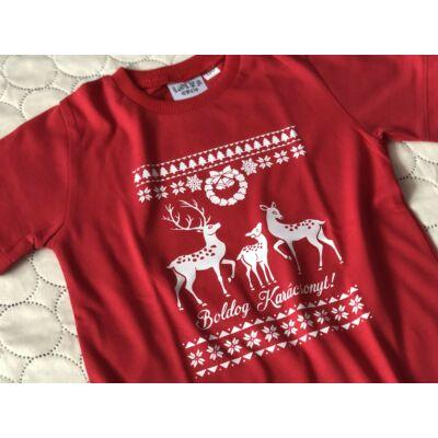 Boldog Karácsonyt (Rénszarvas) - Gyerek póló