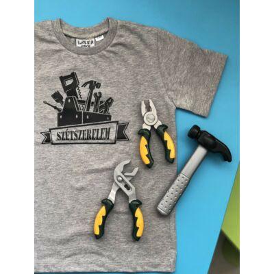 Szétszerelem - Gyerkőc póló (szürke)