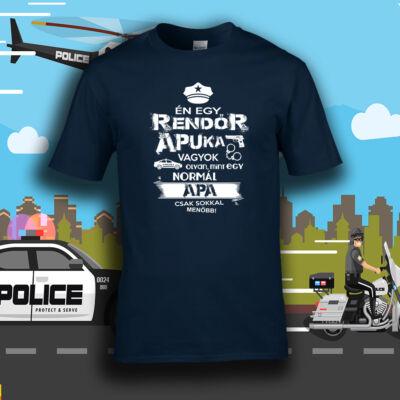 Rendőr apuka vagyok (Mélykék)