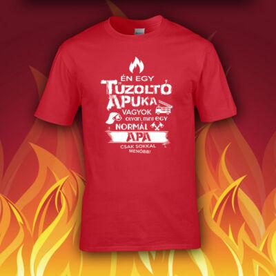 Tűzoltó Apuka vagyok - Férfi póló