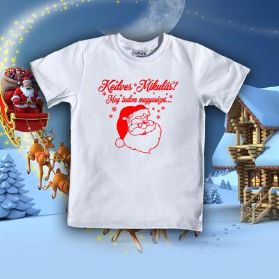 Kedves Mikulás - Gyerek póló
