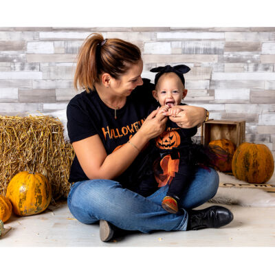 Halloween Töklámpás - Családi Csomag (Anya + Baba)