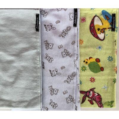 Textil Pelenka - -Kék és zöld Válogatás (3 db)