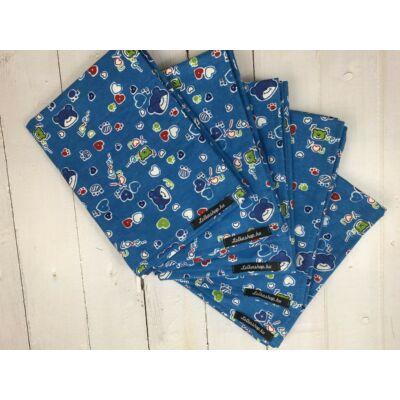 Textil Pelenka - Kék Macik (1db)
