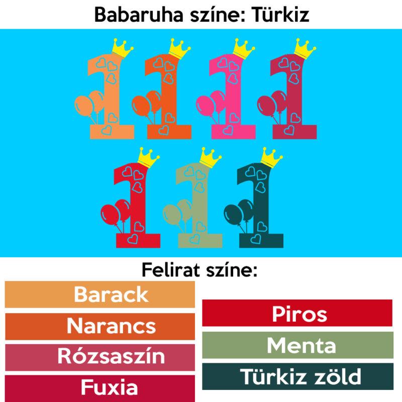 Hercegnős Első szülinap - Babaruha