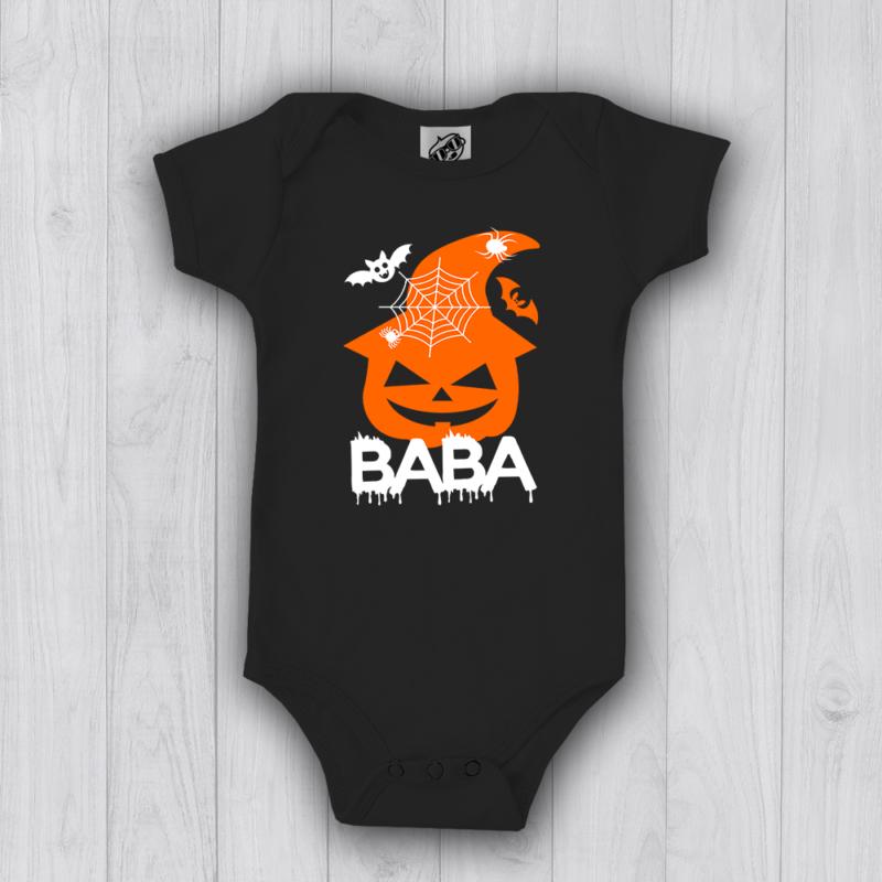 Halloween Tökfej Baba