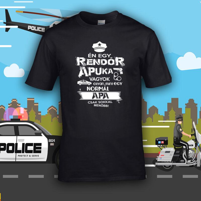 Rendőr apuka vagyok (Fekete)