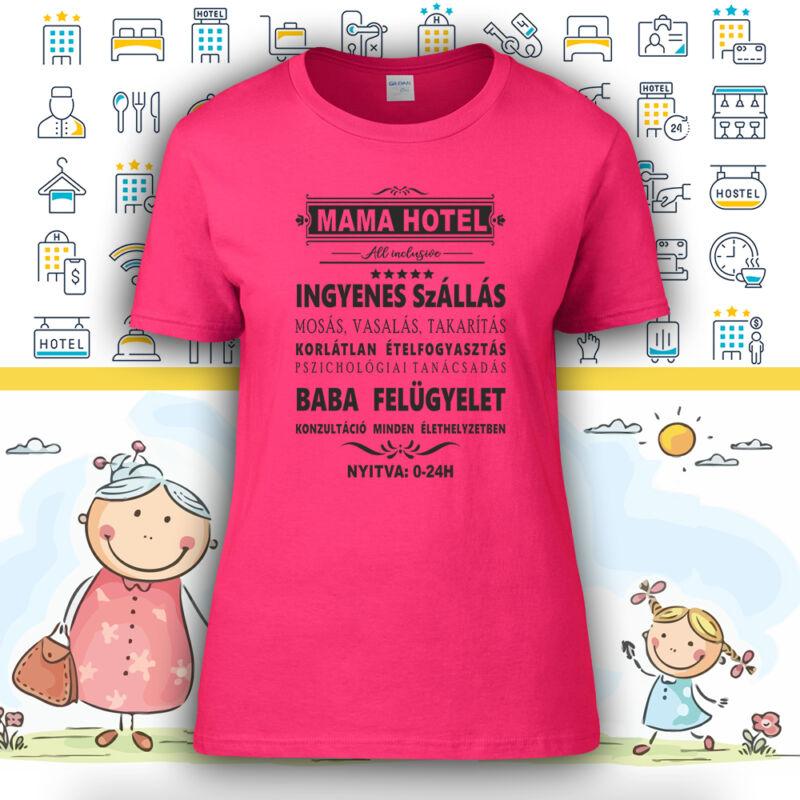 MAMA HOTEL - Női póló