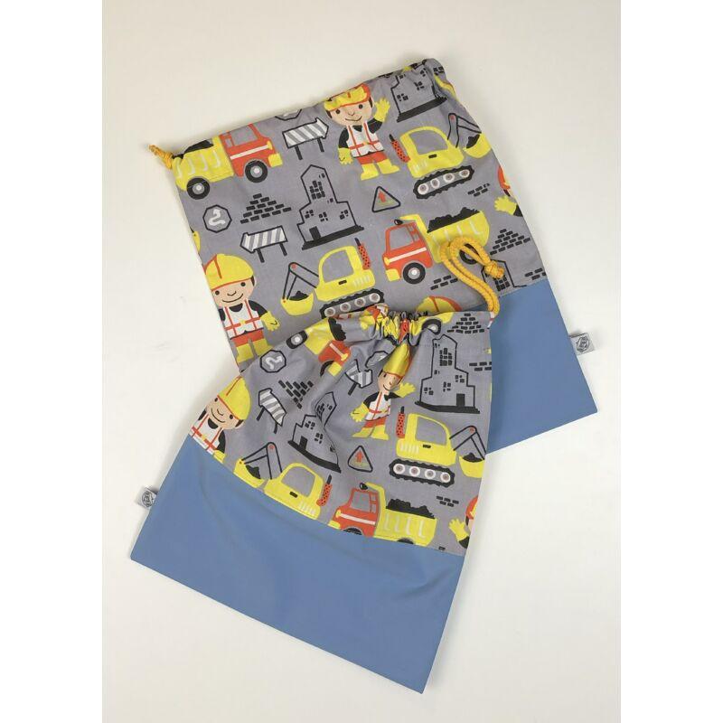 Ovizsák szett - Építőmester (Kék) - Egyedi felirattal is rendelhető