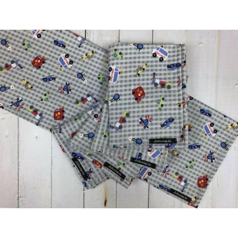 Textil Pelenka - Járművek (1db)
