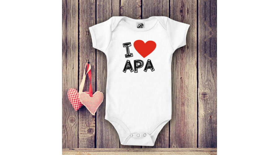 6456ca9741 I LOVE APA - Babaruha