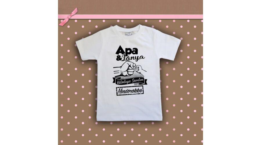 b17f80666f Apa & Lánya Különleges szerelem - Gyerkőc póló ...