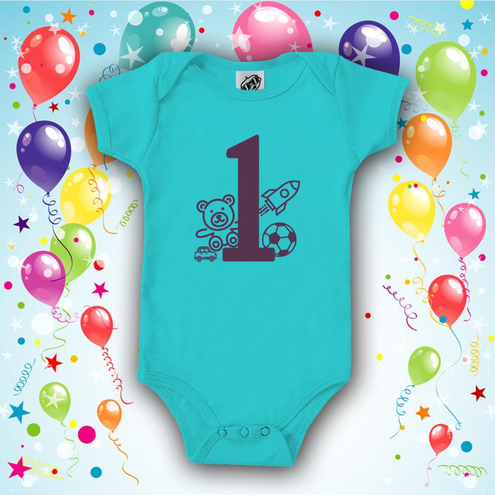 2af51a5ce4 Első szülinap, fiús baba body - Babaruha